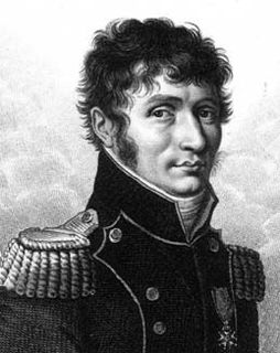 Pencil portrait of a man standing to the side wearing a military uniform with a high collar and a medal on his chest